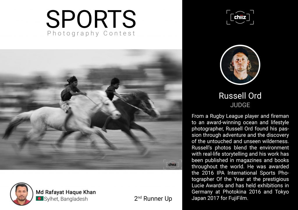 Chiiz Sports Photography Contest 3rd place